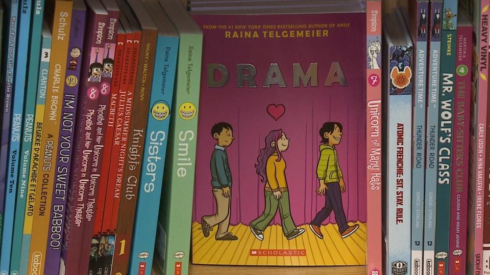 Graphic novel 'Drama'