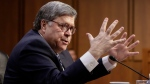 William Barr, U.S. President Donald Trump's pick to be the next attorney general, answers questions at his confirmation hearing, on Capitol Hill in Washington, Tuesday, Jan. 15, 2019. (AP Photo/J. Scott Applewhite)