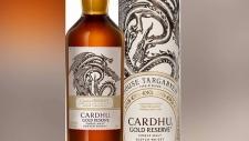 'Game of Thrones' whisky headed for B.C. shelves