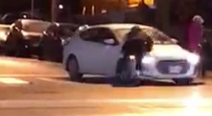 Police are investigating a shocking incident of road rage in the downtown core.