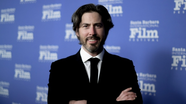 In this Monday, Nov. 19, 2018 file photo, Jason Reitman attends the 2018 Kirk Douglas Award for Excellence in Film Honoring Hugh Jackman at the Ritz-Carlton Bacara in Goleta, Calif. (Photo by Richard Shotwell/Invision/AP, File)