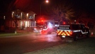 A home in Vancouver's Killarney neighbourhood was evacuated following a carbon monoxide leak late Tuesday night.