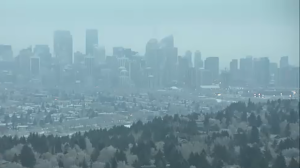 Fog is expected to hang over the city and parts of southern Alberta on Wednesday morning and will dissipate throughout the day.