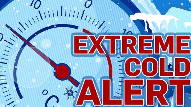 Extreme cold warnings in northeastern Ontario