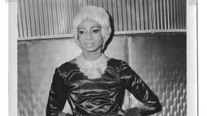 "This 1960's image shows Jackie Shane at The California Club in Los Angeles. Shane's '""Any Other Way"" has been nominated for best historical album at this year's Grammy Awards on Feb. 10. (Jackie Shane via AP)"
