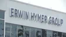 The Erwin Hymer Group sign