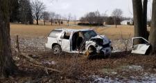Tavistock single vehicle crash