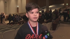 Over 150 grade six students in Timmins are celebrating after completing the Drug Abuse Resistance Education program. Lydia Chubak reports.