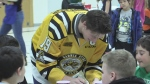 Hockey heroes support Sarnia breakfast program