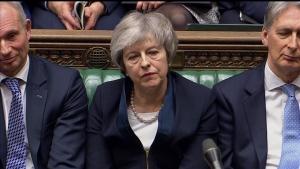 May survives no-confidence vote