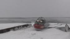 Lake Simcoe ice rescue