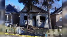 A photo of the scene at 457 Aberdeen Ave. (Source: court exhibit.)