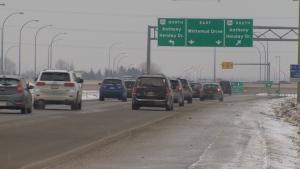 Edmonton traffic