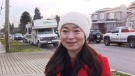 Karen Wang speaks during an interview in Burnaby, B.C., on Tuesday, Jan. 15, 2019, in this image taken from video. (THE CANADIAN PRESS/Laura Kane)