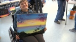 Seniors home gets art donation