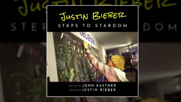 Justin Bieber book Steps to Stardon