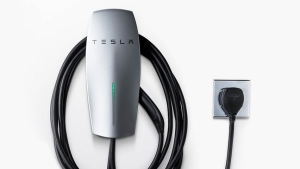 Tesla's new at-home EV charging station. (Tesla)