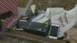 Volunteers collecting cellphones for those in need