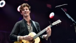 Shawn Mendes performs at the Jingle Ball at the Allstate Arena on Wednesday, Dec 12, 2018, in Rosemont, Ill. (Photo by Rob Grabowski/Invision/AP)