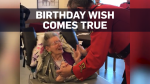 RCMP officer dances with woman on 100th birthday