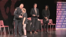 Over 150 grade six students in Timmins are celebrating after completing the D.A.R.E. program. Lydia Chubak finds out what they learned.