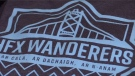 Even though the soccer team hasn't played a regular-season game yet, Halifax Wanderers merchandise has been popular among sports fans.