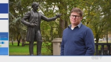 CTV Northern Ontario's Tony Ryma talks to an expert on the controversy surrounding some statues of historical figures.