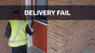 Canada Post worker doesn't attempt to deliver