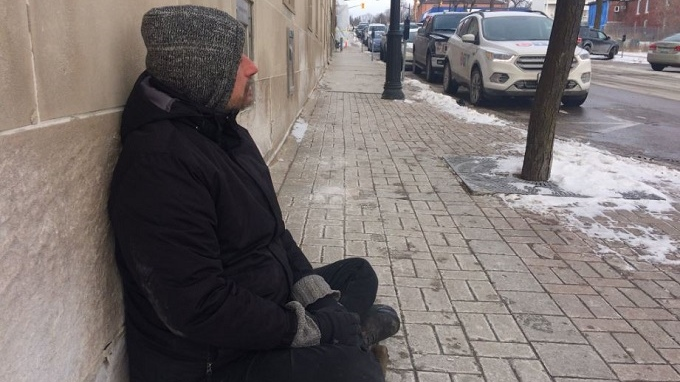 Extreme cold advisory across the region affects the region's less fortunate.  (CTV News/Rob Cooper)