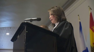 Mutsumi Takahashi presides over Canadian citizenship ceremony