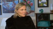 Breast cancer survivor Rebecca Hollingsworth.