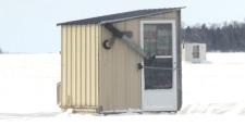 Ice hut security