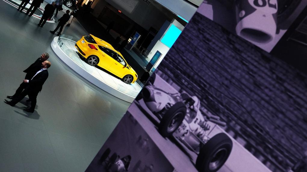 Auto Show in Detroit
