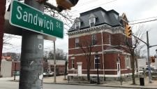 Former Sandwich post office