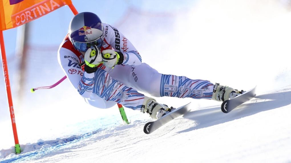 Lindsey Vonn in Cortina D'Ampezzo