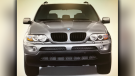 A stock image released by police shows a BMW SUV, potentially similar to the one that struck a 53-year-old woman in East Vancouver overnight. (Handout)