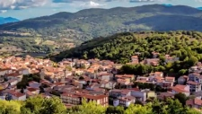 The city of Sambuca di Sicilia is seen from above (Source: CNN Travel)