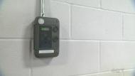 A carbon monoxide monitor at Laurier Macdonald vocational school