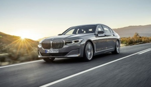 The new BMW 7 Series luxury sedan (BMW Group)
