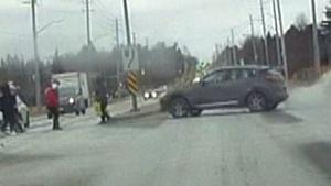 Pedestrians hit by car in Markham