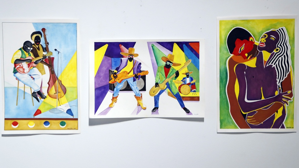A selection of artwork by Richard Phillips