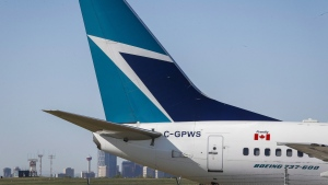 WestJet says 24 flights since Nov. 20 that arrived and departed from Calgary had guests that tested positive for COVID-19. (File)