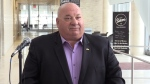 Bruce-Grey-Owen Sound MP Larry Miller announces his retirement on Friday, Jan. 18, 2019 (CTV News/Roger Klein)