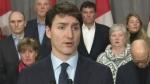 Trudeau comments on Saudi Arabia relations