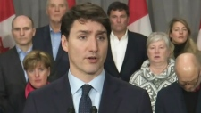 Trudeau comments on Saudi Arabia relations