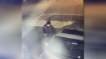 Police release this image of a suspect wanted in connection with several vehicle break-ins in Caledon. (Caledon OPP)