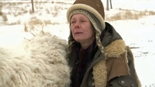 April Irving appeared in a February 2015 interview with CTV after dozens of animals were removed from the property where she was living at the time