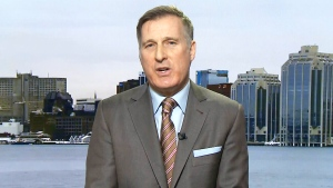 People's Party Leader Maxime Bernier on CTV's Question Period.