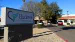 FILE - This Friday, Jan. 4, 2019, file photo shows Hacienda HealthCare in Phoenix. (AP Photo/Ross D. Franklin, File)