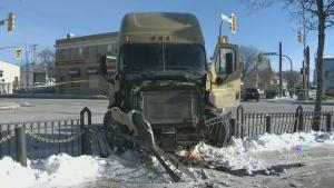 Stolen semi wreaks road havoc